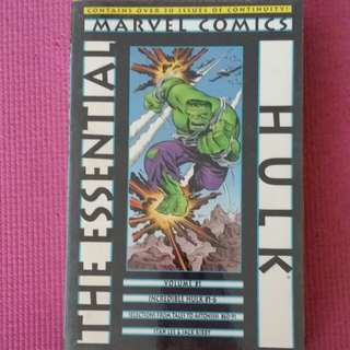Marvel Comic Essential Hulk Vol 1