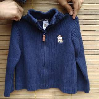 Navy Sweater by Carter's (FREE ONGKIR)