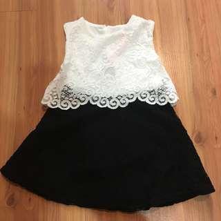 River island Baby Lace Dress (6-9mo)