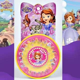 Kids Princess Elsa Hello Kitty Nail Polish Manicure Stickers