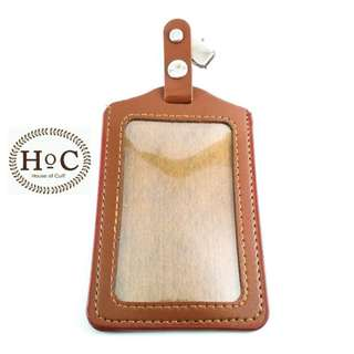 Houseofcuff ID Card  ID CARD HOLDER BROWN