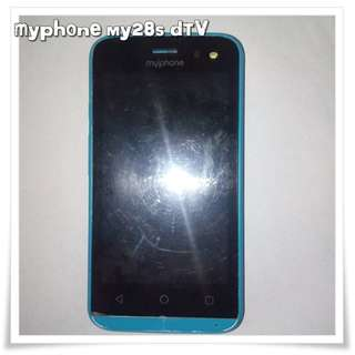 Defective: Myphone my28s DTV