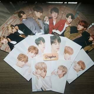 BTS x MEDIHEAL individual sets (PC + MASKS)