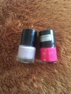 Oriflame Nail Polish Lavender&Intense Pink