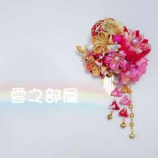 日系和風裙褂中式頭飾髮夾
