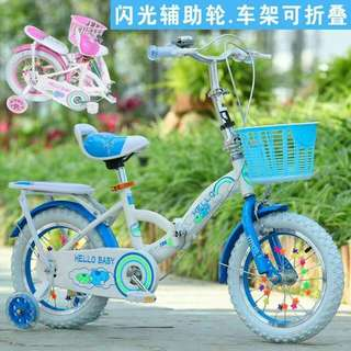 Foldable size 12/18   kids bicycle