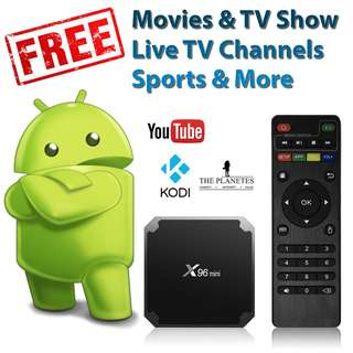 X96 Mini - Value for money Android TV Box (Optional: 1 Year Premium IPTV Subscription)