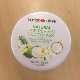 Human Nature Natural Hair Revival Coco Mask