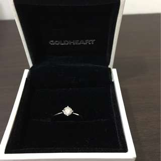 VS1 WG 750 Diamond Solitaire by Goldheart Jewellery
