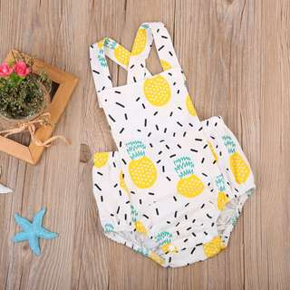 Pineapple Baby Playsuit