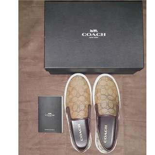 Authentic Coach Slip on Sneakers