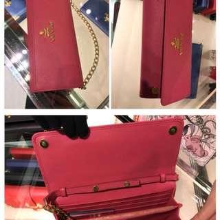 PRADA - authentic luxury clutch handbag for HER! (Price readjust)