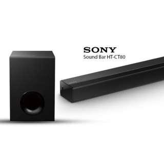 Soundbar Sony Soundbar HT-CT80
