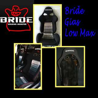 Bride Gias Low Max sport seats ( 1pair )