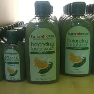 Human Nature Balancing Facial Wash