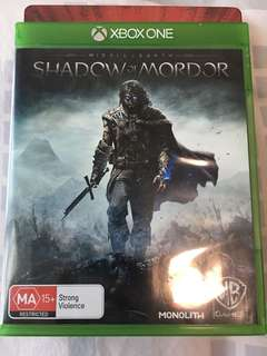 Xbox One Middle Earth - Shadow Of Mordor