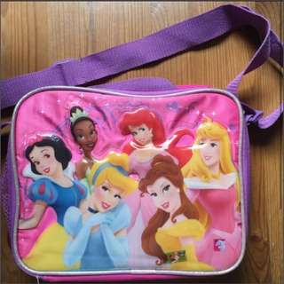 Princess lunchbox or sling bag