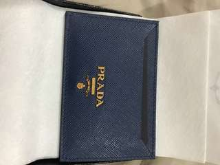 Prada Card Holder 100% Authentic