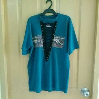 Furst of a Kind lace up tee