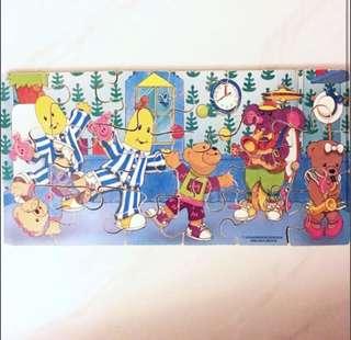 Banana In Pyjamas Wooden Puzzles