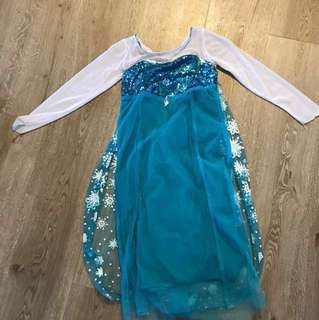 Frozen dress size 110