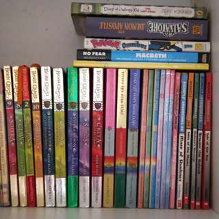 Geronimo Stilton and Beast Quest books