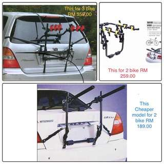 Car bike carrier
