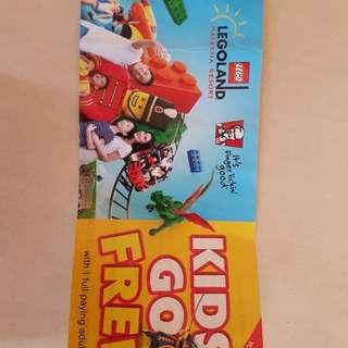 Legoland voucher buy 1 adult free 1 child