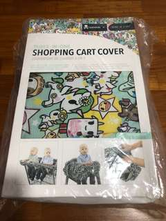 Bebe Au Lait tokidoki high chair shopping cart cover
