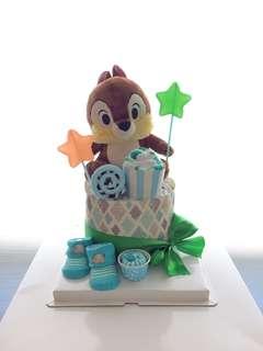 Chip / dale diaper cake