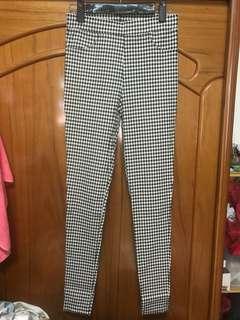 🚚 超彈性格子褲 1件100兩件150