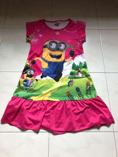 MINIONS SLEEPING DRESS