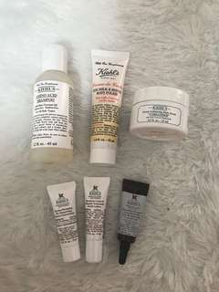 KIEHLS BUNDLE (SERUM, LOTION, SHAMPOO, SCRUB)
