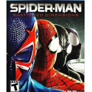 Spiderman Shattered Dimension [GAME PC LAPTOP]