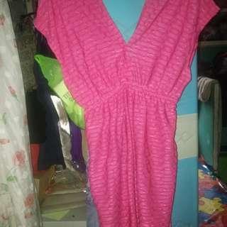 Pink Long Blouse