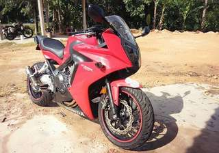 18k Mileage Cbr 650f 🇲🇾 Condition Like New. Well Maintained Bike. Cash Only: RM 30k