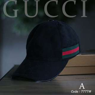 GUCCI 7777#p  Men's & women's HATS Quality : Premium Material  : Thick Cotton Available 9 motif : Code A,B,C,D,E,F,G,H,I  Specifications : • Wide : 17cm • Length: 26cm • Free box • Dustbag, Certi card Can set the size Weight : 0.2 kg/pcs   H 220rb