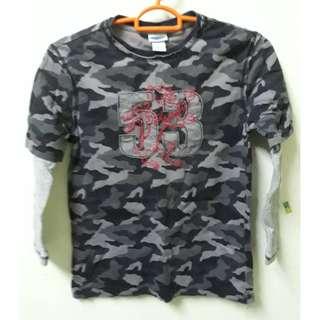 CURFEW camo long sleeve tshirt