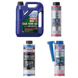 Liqui Moly 10W-60 10w60 Engine Oil Package 2