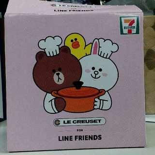 Le Creuset for line friends糖果盒
