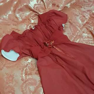 MARKED DOWN!!!!! Red dress