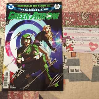 Green arrow rebirth issue 12; komik import
