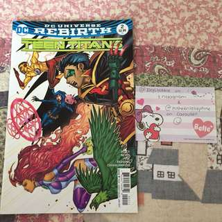 Teen titans rebirth; issue 2