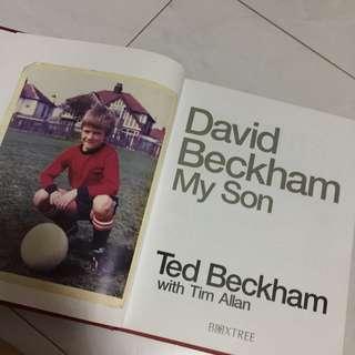 David Beckham My Son by Ted Beckham