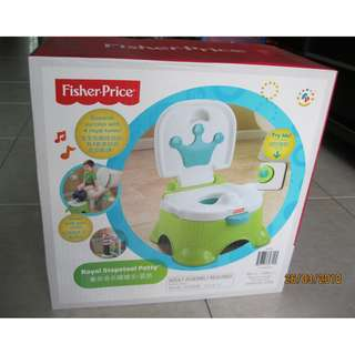 Fisher Price Royal Stepstool Potty with Music (Green)