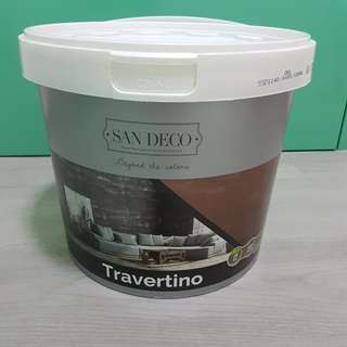 San Deco Travertino Decorative Plaster 20kg