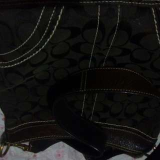 For sale second hand coach shoulder bag from japan