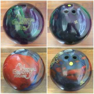 Bowling Ball Combo (2-handed)