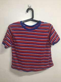 90's crop shirt