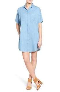 Madewell denim dress not jcrew